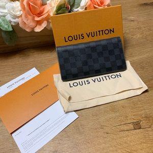 Louis Vuitton two tone bifold wallet